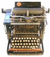 Remington Standard 2 typewriter.