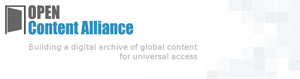 The Open Content Alliance logo