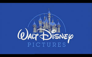 The Pixar version of the Disney logo, used in Pixar movies
