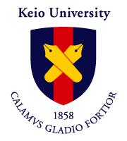 The Keio University crest