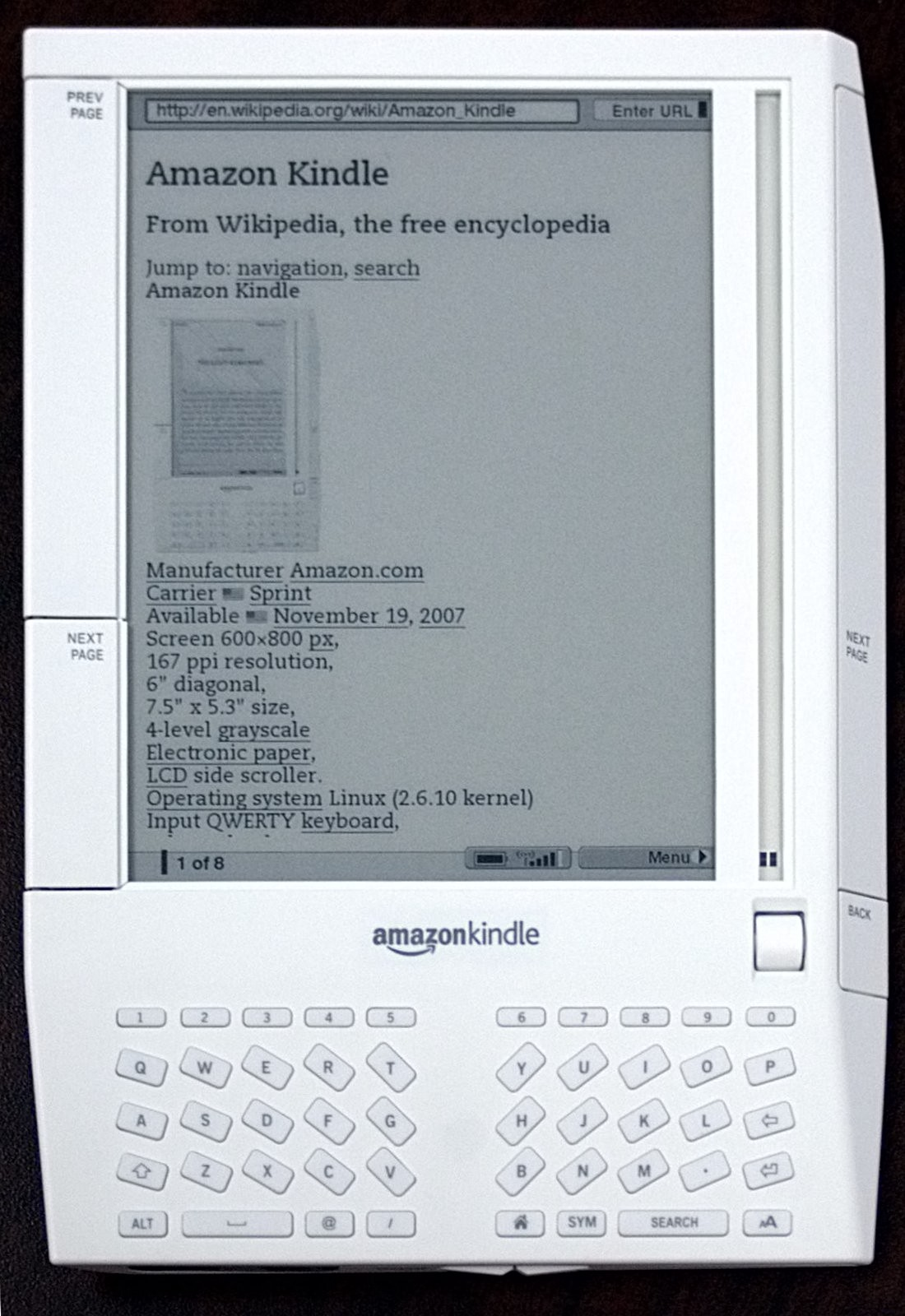 E book digital book history timeline historyofinformation the amazon kindle is introduced november 19 2007 fandeluxe Image collections