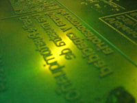 A photopolymer printing plate for flexography