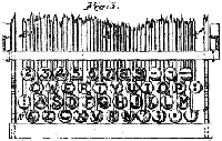 Latham Sholes's 1878 QWERTY keyboard layout