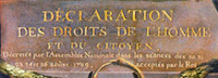 Detail of Déclaration des droits de l'Homme et du citoyen by Jean-Jacques le Barbier.  Please click on link below to view and resize entire image.