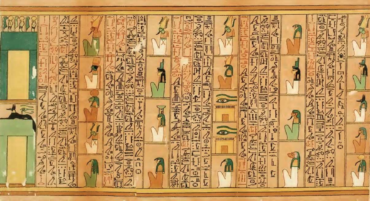 In Ancient Egypt Only The Book Of Dead Papyri Were Commercially Produced Circa 1550 BCE 50 HistoryofInformation