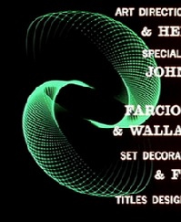 Title sequence from Vertigo; titles designed by Saul Bass; spirographic images contributed by John Whitney.