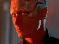 The T-1000 cyborg as played by Robert Parker.