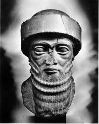 Hammurabi (1792-1750 BCE), the most famous of the early Babylonian kings. (View Larger)