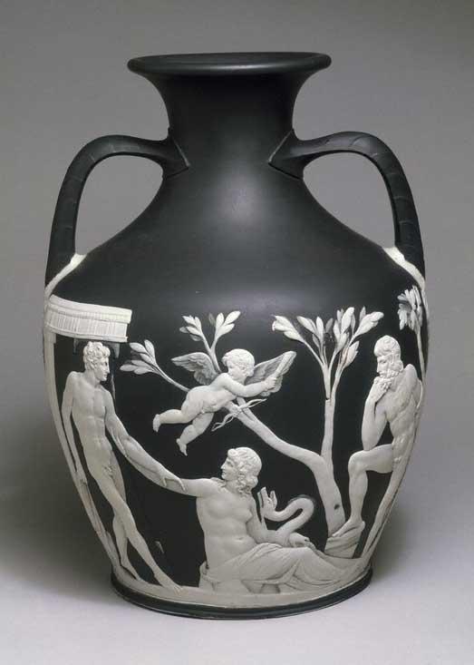 The Portland Vase Classical Connoisseurship Influence Destruction